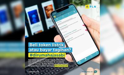 Photo of Cegah Penyebaran Corona, PLN Imbau Pelanggan Gunakan Pembayaran Online