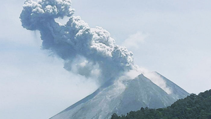 Gunung Merapi Meletus, Masyarakat Diimbau Tidak Panik