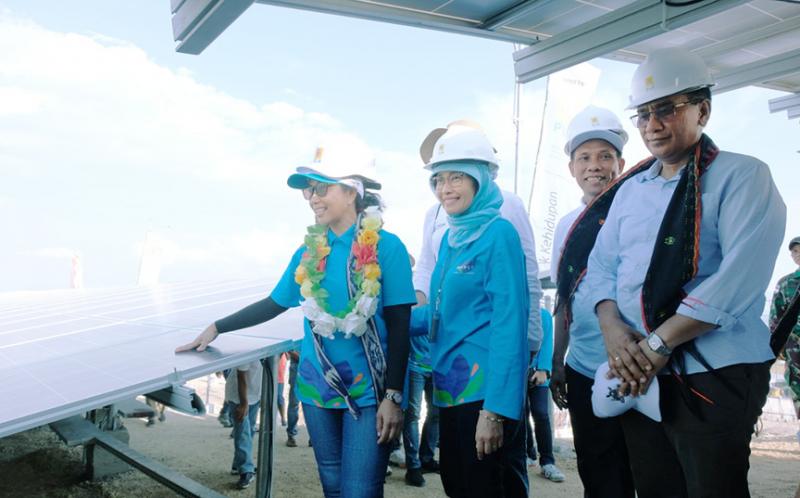 Manfaatkan Energi Baru Terbarukan, PLN Berhasil Listriki Pulau Messa