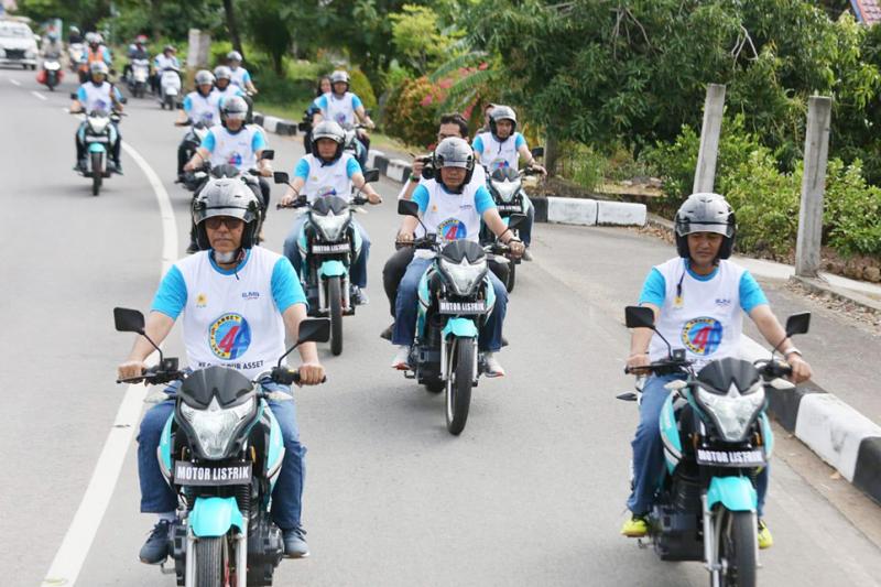 PLN Wilayah Aceh Lakukan Inspeksi, Gunakan Motor Listrik