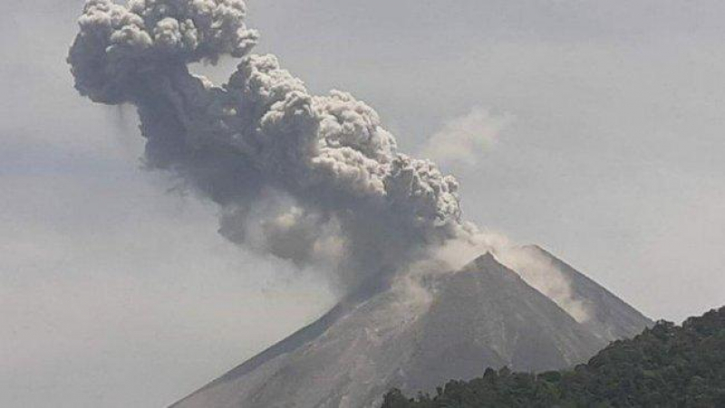 Wah, Tiba-tiba Gunung Merapi Meletus