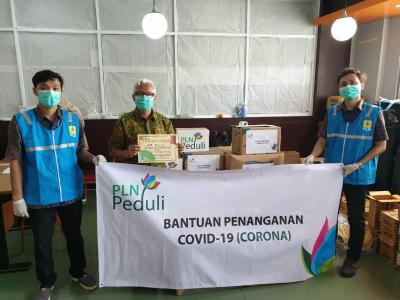 Photo of PLN Salurkan Bantuan Dukung Pencegahan Covid-19