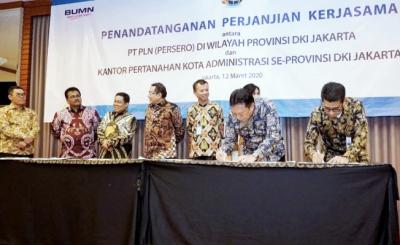 Photo of PLN Tanda Tangan Kerjasama dengan Kantor Pertanahan se-Jakarta