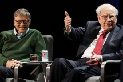 Photo of Bill Gates & Warren Buffet Joint Bangun PLTN