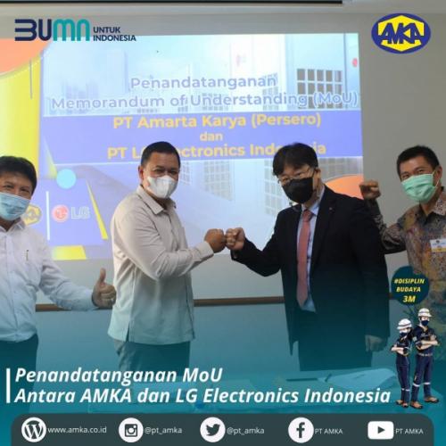 Photo of BUMN AMKA dan LG Electronics Indonesia Jalin Kerja Sama