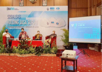Photo of BUMN Jasa Survei Kolaborasikan Sumber Daya Bersama
