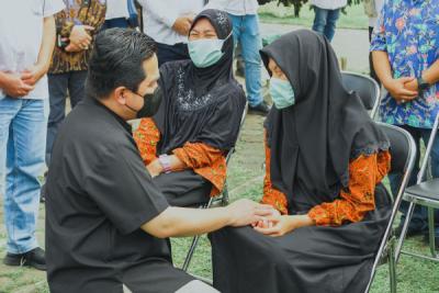 Photo of Erick Thohir Apresiasi Pemberdayaan Ratusan Anak Penyandang Disabilitas Binaan PLN di Bandung
