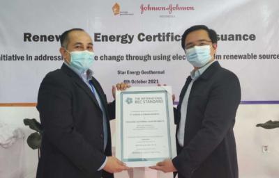 Photo of Johnson & Johnson Indonesia Terima REC dari Star Energy Geothermal Dalam Upaya Menghasilkan Listrik