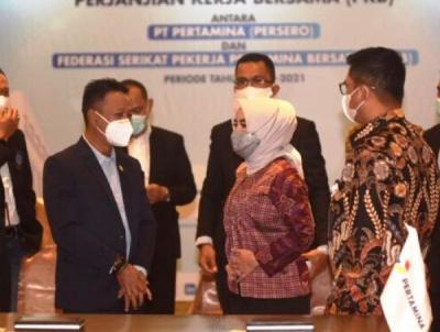 Photo of Kerja Sama Pertamina dan Serikat Pekerja Pertamina Resmi Diperpanjag