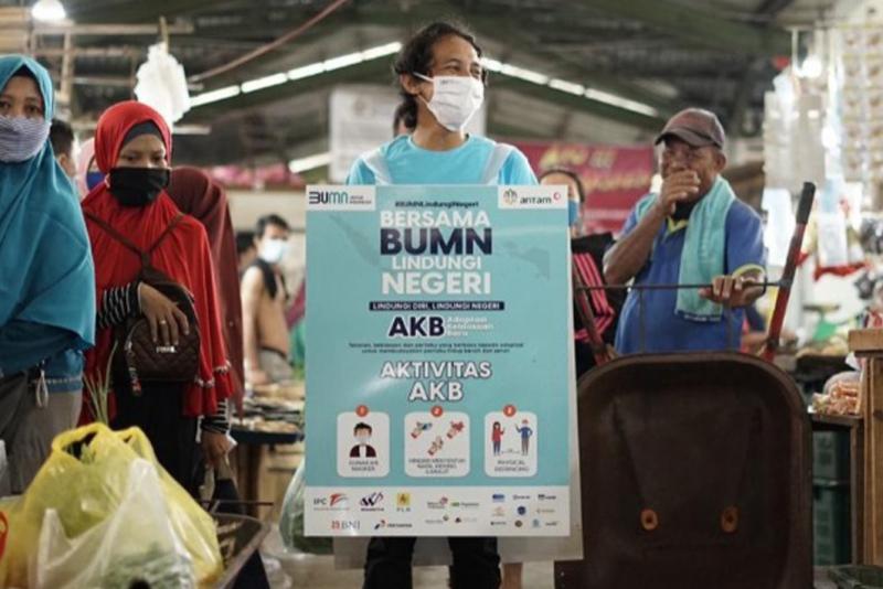 Photo of Lawan Covid-19, ANTAM Gandeng Satgas BUMN Kalbar Bagikan 16 Ribu Masker