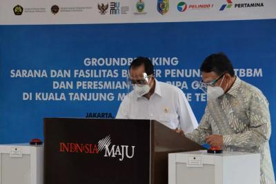 Photo of Menteri ESDM Resmikan Infrastruktur Energi di Kuala Tanjung