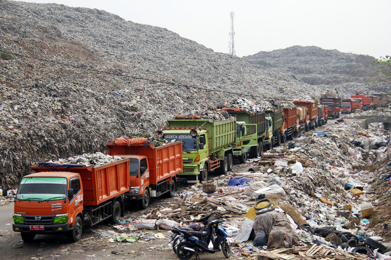 10 Unit Fasilitas Pengolah Sampah (RDF) Dibangun pada 2021