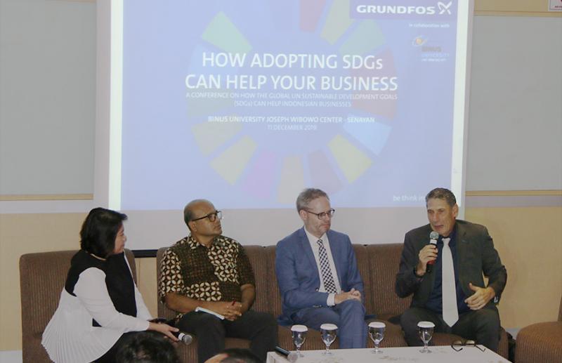 Adopsi SDGs, Kunci Pertumbuhan Bisnisdi Indonesia
