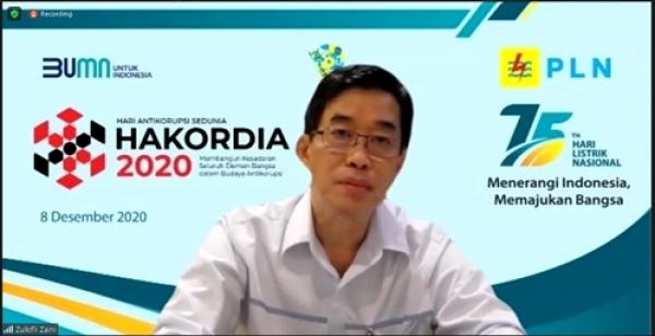 Cegah Korupsi Di Korporasi, PLN Gelar Diskusi Bersama KPK dan TII