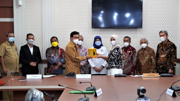 DEN dan DPR-RI Kunjungi DPRD Sulawesi Selatan, Dorong Penyelesaian RUED
