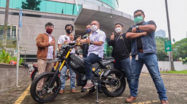 Diversifikasi Bisnis, Elnusa Siap Kenalkan Motor Listrik  Elbike