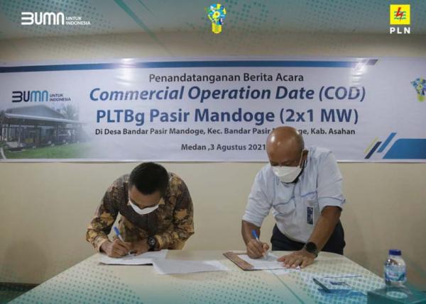 Dukung Energi Bersih, Pembangkit Biogas Pasir Mandoge Perkuat Listrik Sumatera Utara