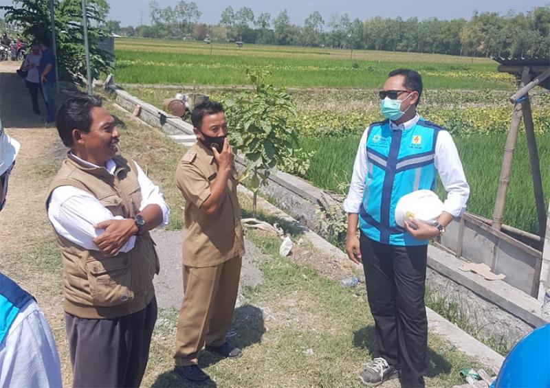 Dukung Ketahanan Pangan, PLN Resmikan Pengoperasian Listrik Pompa Sawah di Madiun