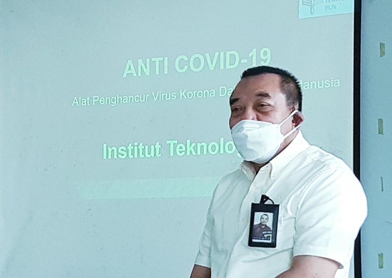 IT PLN Develops Anti-Covid 19 Innovation