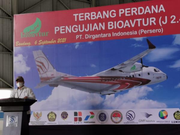 ITB Flying Test Bed Pesawat CN 235 Menggunakan Bioavtur