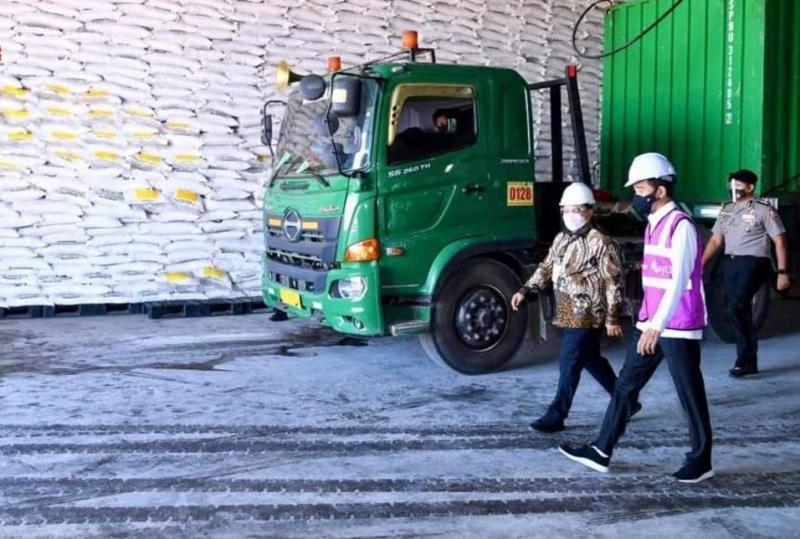 Jokowi: Pabrik Gula Mombana Serap 15 Ribu Naker