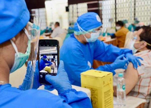 Lebih dari 5 Ribu Pegawai Kementerian ESDM Ikuti Vaksinasi Covid-19