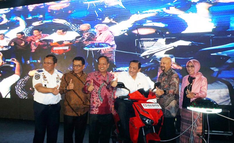 Meriahnya Kegiatan Indonesia Electric Motorshow 2019