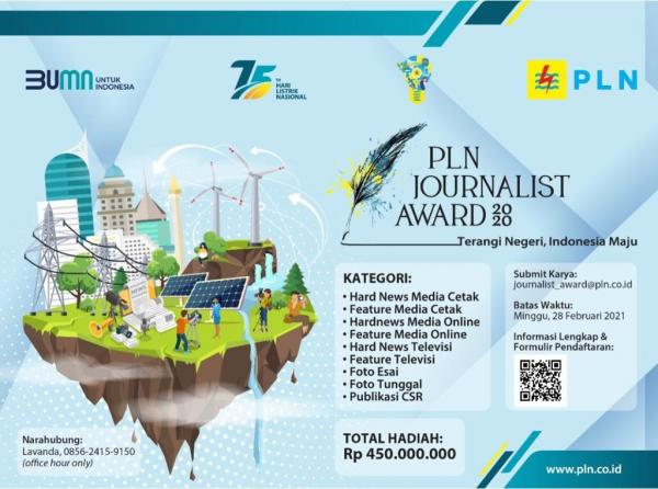 PLN Gelar Journalist Awards 2020