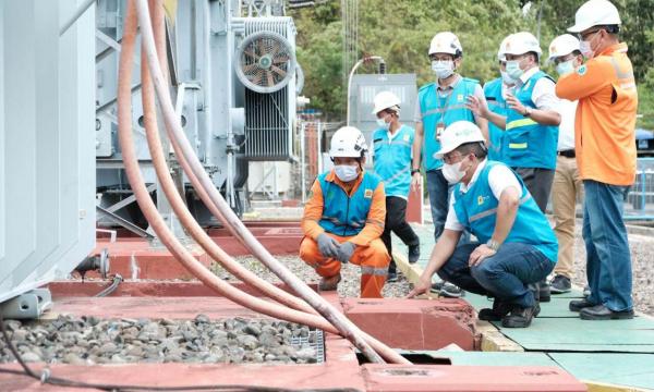 PLN Lakukan Pemeriksaan Kekuatan Transmisi dan Gardu Induk Terdampak Gempa