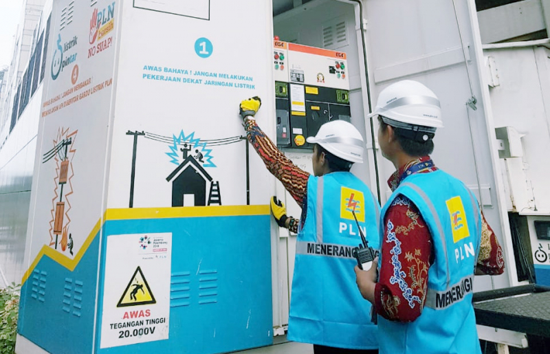 Power Bank PLN Pasok 12,5 Juta VA Untuk Taman Anggrek