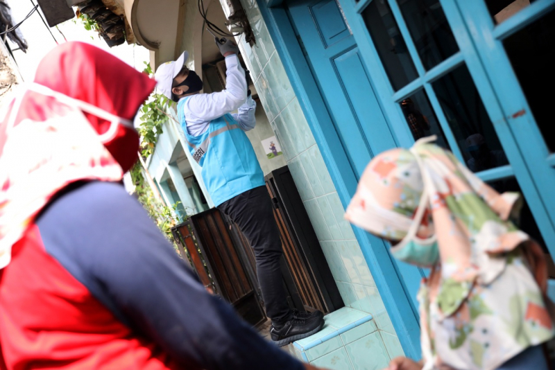 Sebanyak 1200 Rumah Miskin Di Aceh Dapat Sambungan Listrik Gratis