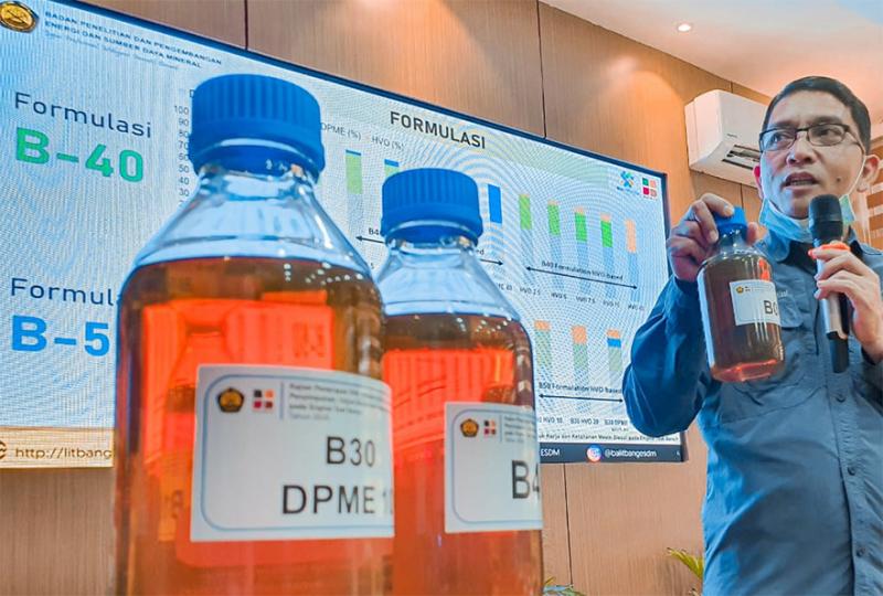 Selesai Akhir Tahun Ini, Pengujian Biodiesel B40
