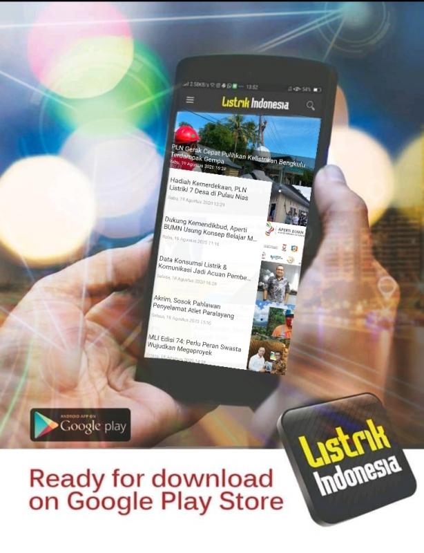 Transformasi  Listrik Indonesia Upgrade Portal Versi Mobile