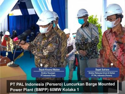 Photo of PT PAL Sukses Luncurkan Dual Fuel Barge Mounted Power Plant 60 MW Kolaka 1