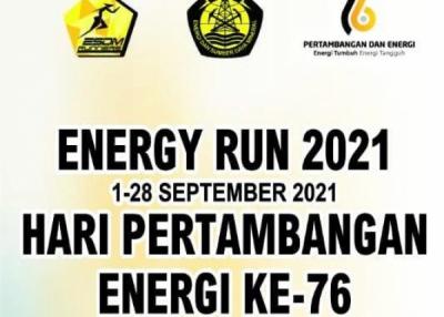 Photo of Semarakkan Hari Pertambangan dan Energi, Komunitas ESDM Runners Selenggarakan Energy Run 2021